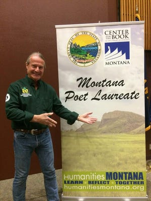 Lowell Jaeger started writing as a junior high schooler in Wausau. Now he's the poet laureate for Montana.