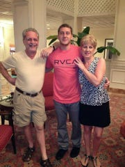 Roger and Donna Andelora of Wayne with their son Joey