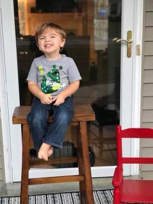 Alec Birkey, age 2