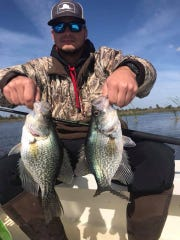 Got tartar sauce? The speckled perch fishing is really