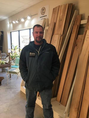 August Hoppe, owner of Hoppe tree Services, is moving the tree milling operation to a new West Allis store.