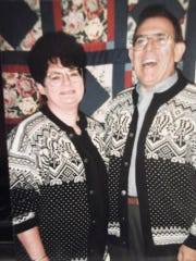 Norma Czarnik and her husband, Tony.