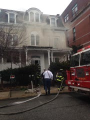 """The fire started on the first floor after a """"heating"""
