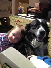 Peyton Curry and Jude. Mom Kellie Curry said Jude was