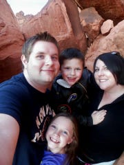 Hiking in Valley of the Fire State Park in Nevada