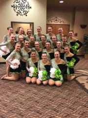The D.C. Everest dance team placed third in Division
