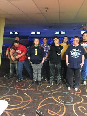 Some participants in a recent  event at Pinz Bowling hosted by Social Outings.