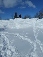 Winds created impassable snowdrifts in East Glacier