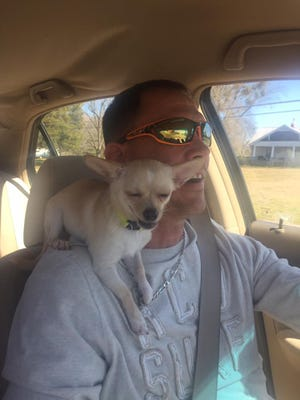 Bobby Shane Harvey and his dog Pup Pup disappeared from Anderson on Sunday. They were both found dead this week.
