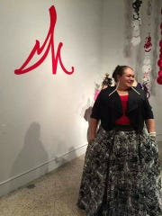 Monica Garcia, artist, educator and outreach at K Space Contemporary
