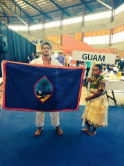Joshter Andrew, 20, has high hopes of representing Guam at the Tokyo Olympics in 2020.