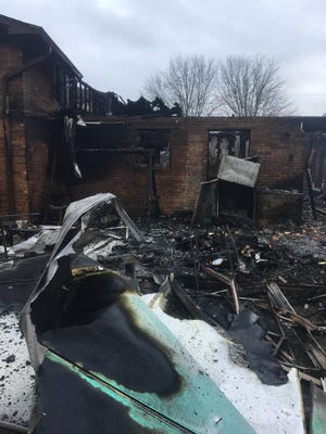Two dogs died in an early morning house fire in Seymour, according to the Seymour Volunteer Fire Department.