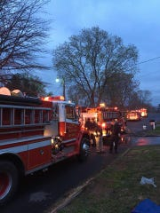 Firefighters raced to a house fire in Seymour's Van