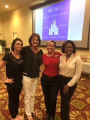 CASTLE staff, from left, Jill Rodriquez, Angel Roberton, Christann Hartley and Jovil Wharton.