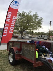 Clothing found during the 29th Annual Bataan Memorial Death March is being collected in a lost and found bin. Unclaimed clothes will be donated to a local homeless shelter, according to the WSMR Facebook page.
