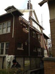Fixes to Linsey Higgins and Paul Mack's home underway,