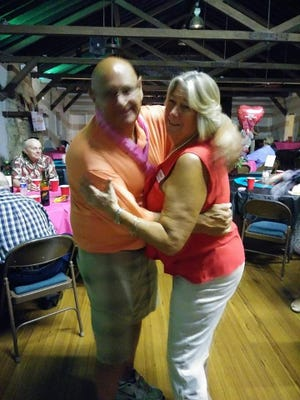 "Chris and Pat Savino at the recent ""Sweetheart of a Dance"" in Vero Beach benefiting Suncoast Mental Health Center."