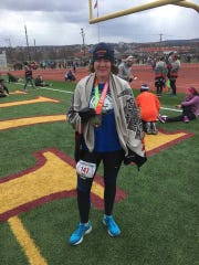 Chambersburg's Tasia Kenosky ran two races — a 5K and