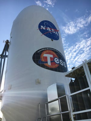 NASA's Transiting Exoplanet Survey Satellite (TESS) mission is targeting a 6:32 p.m. Monday launch from Cape Canaveral on a SpaceX Falcon 9 rocket.  The satellite is the next step in NASA's search for planets outside our solar system, known as exoplanets.