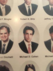 Michael D. Cohen graduated from Lansing's Cooley Law