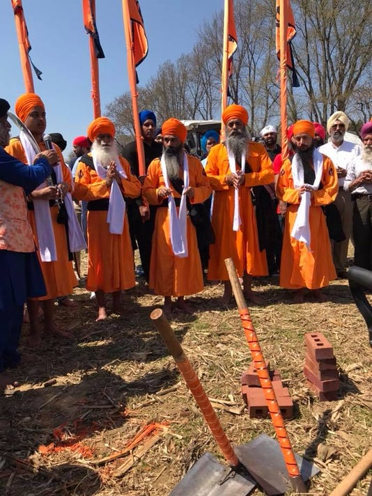 Future Sikh temple in Monroe holds groundbreaking