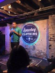 Wilmington comedian Brandon Vincent Jackson will headline