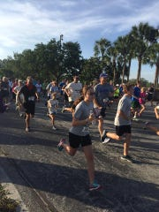 Runners in last year's Head & Neck Cancer 5K Run & 2 Mile Walk.