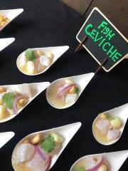 Ceviche by InTruck Coastal Bites was a big hit.