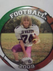 Kary Kutsch has been playing football since he was