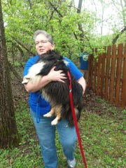 Becky Thayer is reunited with Wally on Mother's Day,