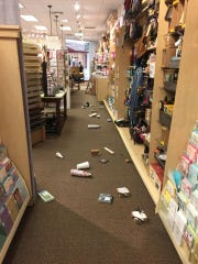 After an earthquake hit Hilo, Hawaii.
