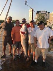 Floyd Wiley, Thomas Lynch, Wes Moon, Capt. Kevin Pento