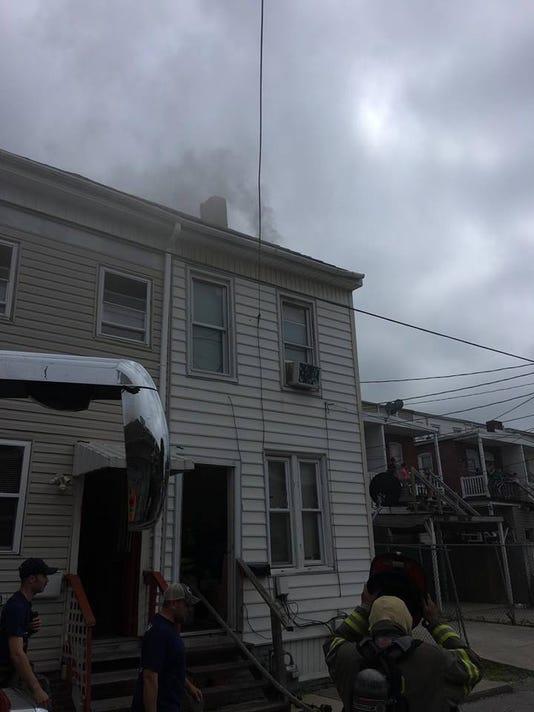 York City fire 5/28