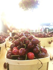 Cherries by Caradonna Farm in Milton, NY -- and at