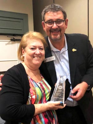Florida District Exchange Clubs named Nancy Gollnick the state's Exchangite of the Year.
