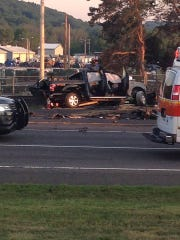 A police chase Sunday evening led to one fatality,