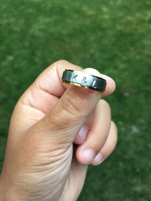 Linda Park is hoping to find the owner of the ring her son found in Lake Huron off Lakeside Beach.
