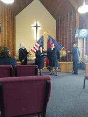 Lt. Jenny Moffitt was installed and welcomed at The