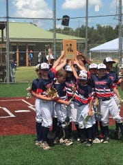 The Levy Park 9U all-star team won the Cal Ripken State