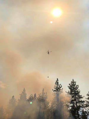 Fire teams are fighting a number of wildfires in southwest Oregon.