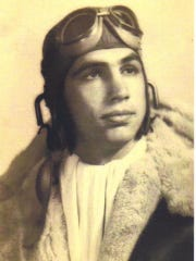 J.W. Stine was in the Air Force during World War II.
