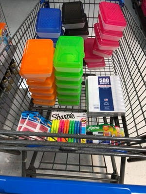 Back-to-school supplies will be tax-free in Ohio this weekend.