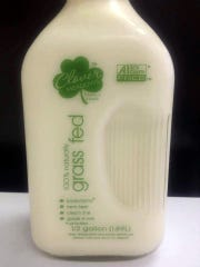 Clover Meadows Grassfed milk comes from an exclusively
