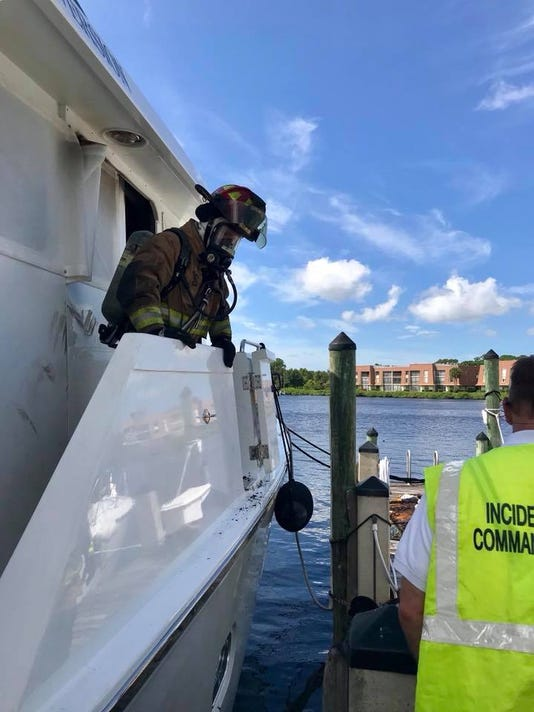 Boat fire Thursday afternoon leaves no one harmed.