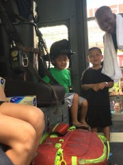 The Milwaukee Fire Department often interacts with children in the neighborhood and have nicknames for many of them.