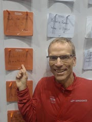 Lance Bergeson, with his goal of breaking 3 hours at the Chicago Marathon exp on Oct. 5.