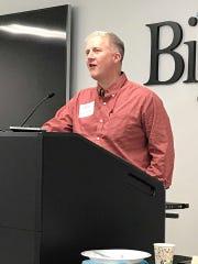 State Rep. Rob Wiederstein speaks of his experiences
