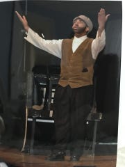 """During his junior year at Waverly High School Chuckie Benson played Tevye in the 2010 production of """"Fiddler on the Roof."""""""