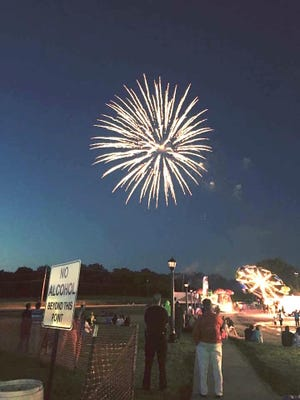The Spirit of Macedonia FunFest, shown in this 2018 photo, may have been canceled due to COVID-19, but its accompanying fireworks show will still go off at Longwood park on July 4.