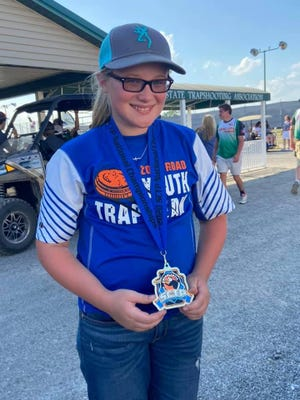 Lizzie Smith was able to shoot a 169/200 earning her the 2020 SCTP Rookie Ladies National Champion title.Submitted photo